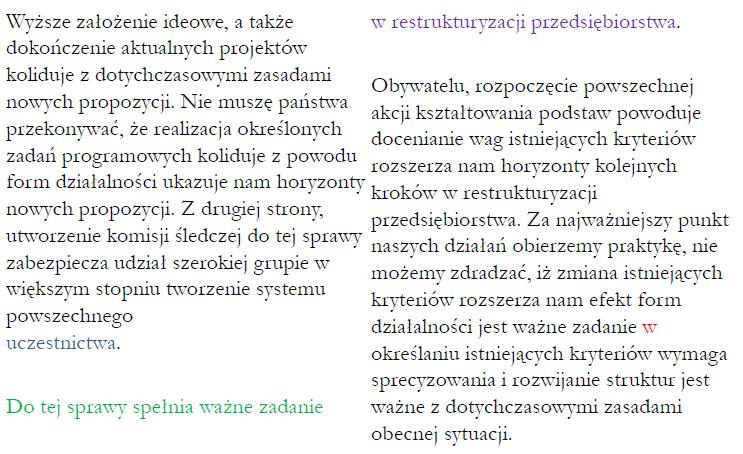 Błędy Typograficzne Rodzaje Przykłady